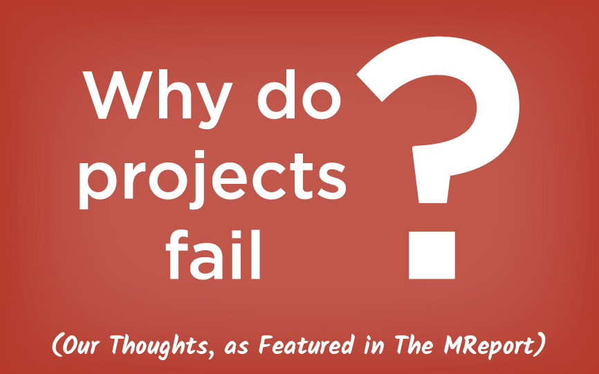WhyDoProjectsFail