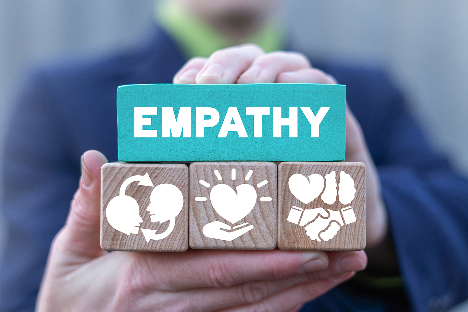 Business,Communication,Concept,Of,Empathy,And,Sympathy.,Love,Emotion,Or