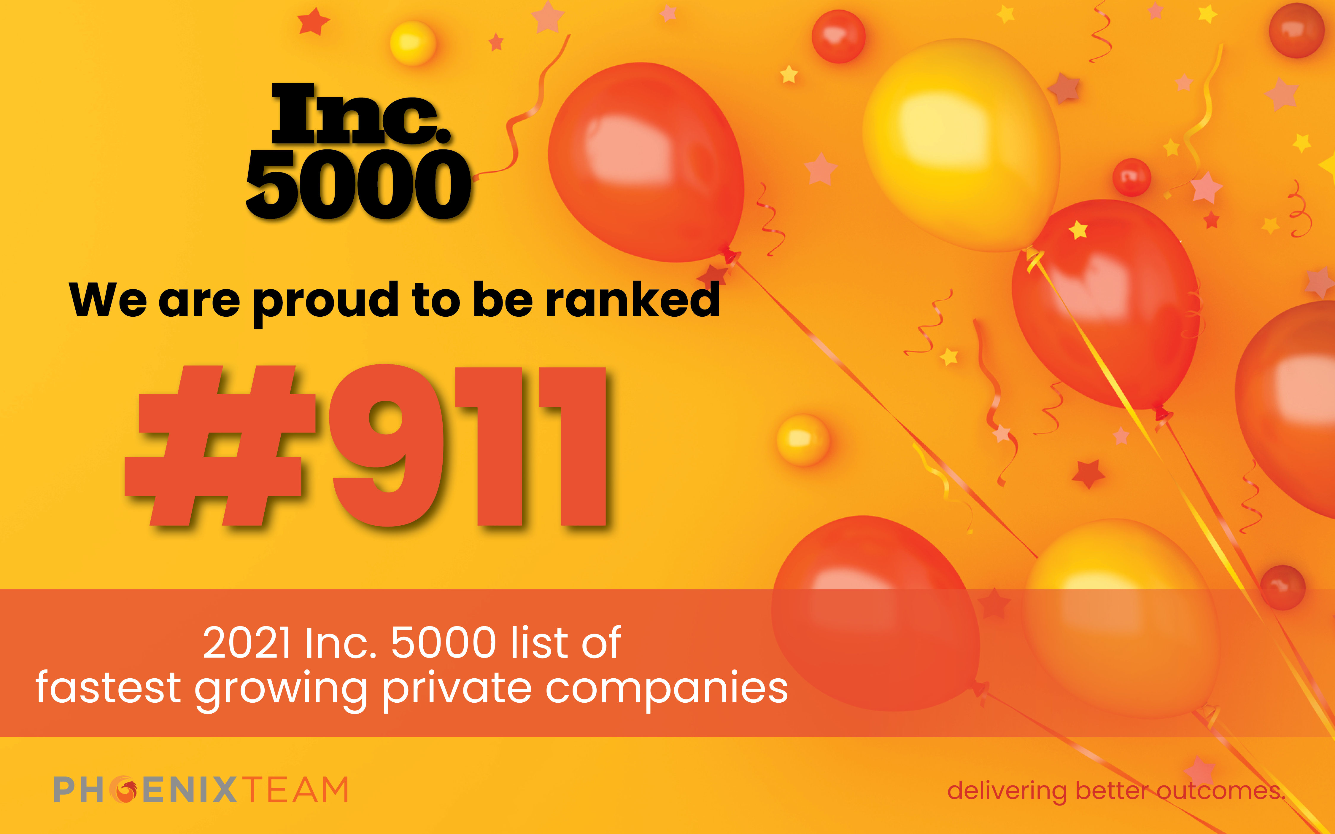 PhoenixTeam Inc 5000 2021 Social 2