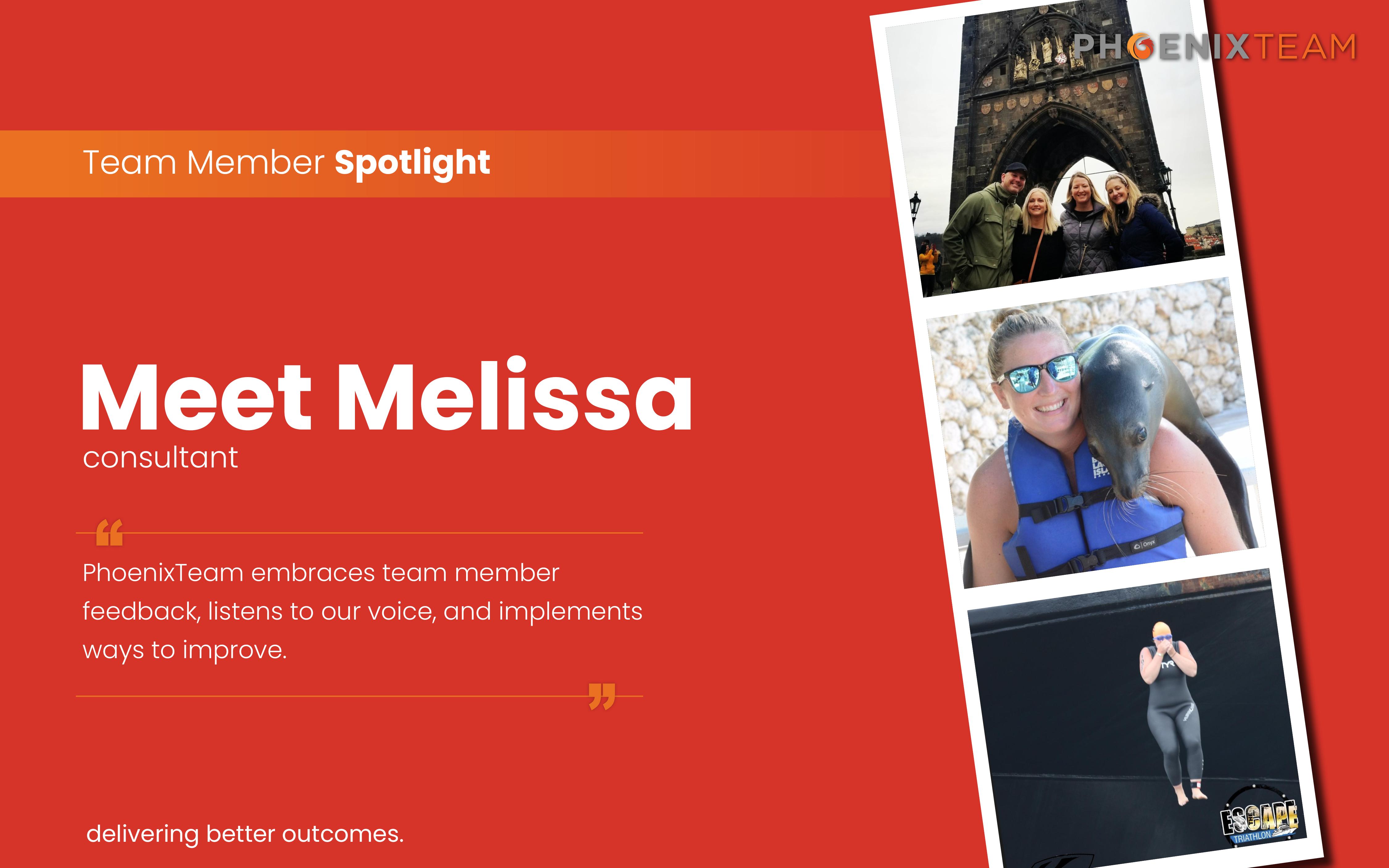 PhoenixTeam Employee Spotlight Graphic – Melissa v2